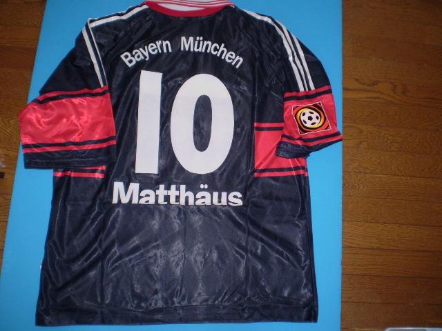 ローター・マテウス 98-99 ブンデスリーガ バイエルンミュンフェン 実使用ホームユニフォーム - ワールドスターコレクション