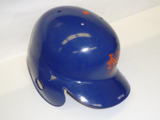 ニューヨーク・メッツ ホセ・レイエス 実使用ヘルメット - ワールドスターコレクション