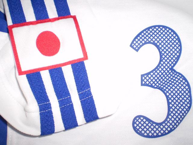 横浜Fマリノス 松田 直樹 2000年 日本代表 実使用アウェイユニフォーム